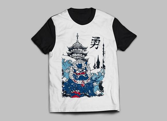Camiseta Dragão Azul