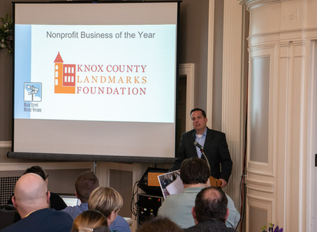 KCLF Receives Nonprofit Business of the Year Award
