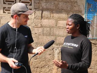 Podcast projekt - optagelser i Ghana i skabet