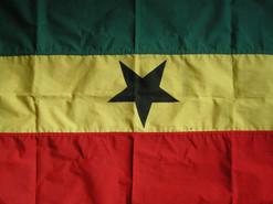 Ghanas grænser er lukket pt.