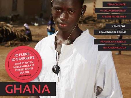 Min farfar er høvding i Ghana