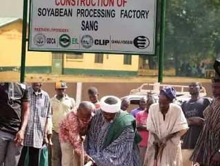 Sojamølle fabrik i Sang