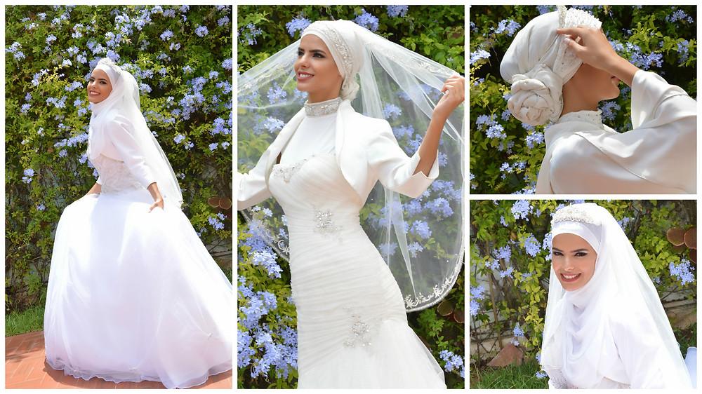 Idée Robe de mariée Hijab