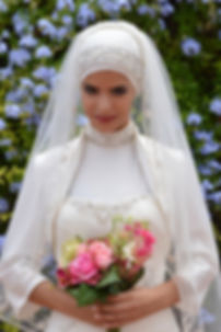 Location robe de mariée Hijab - Maroc Rabat Casablanca