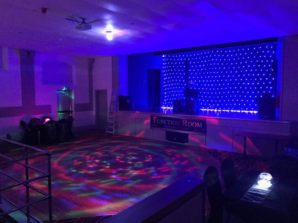 Dance floor & Stage