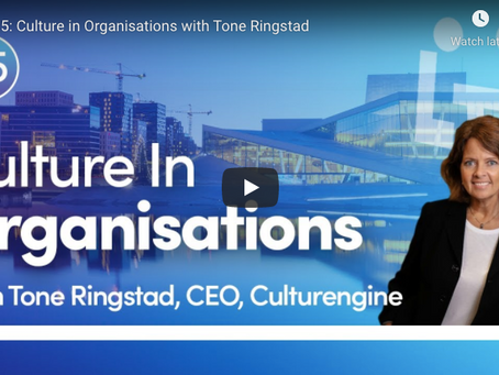 Let's Talk Leadership – Ep 25: Culture in Organisations with Tone Ringstad