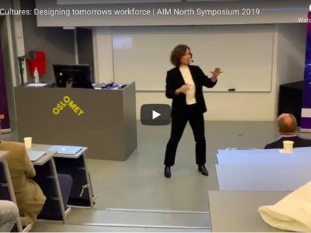 Future Cultures: Designing tomorrows workforce | AIM North Symposium 2019