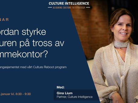 Culture Reboot Webinar