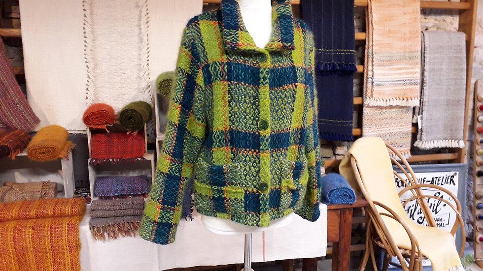 MARIETH LECORNUE - Veste tissée - 100% laine