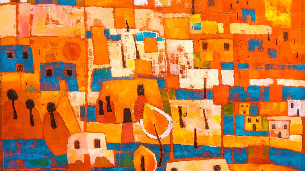 RANA J RODGER - Moroccan Sqaure 60x60 cm