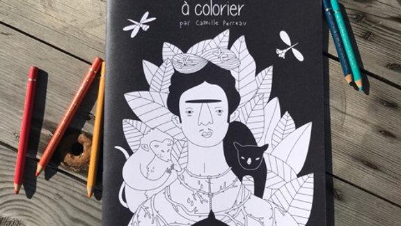LA LUNETTE-Cahier « L'histoire de l'Art à colorier » -28ps- A4-papier recyclé