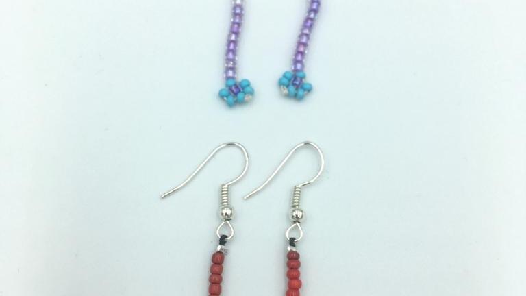 ZÉLIA - Boucles d'oreilles perles