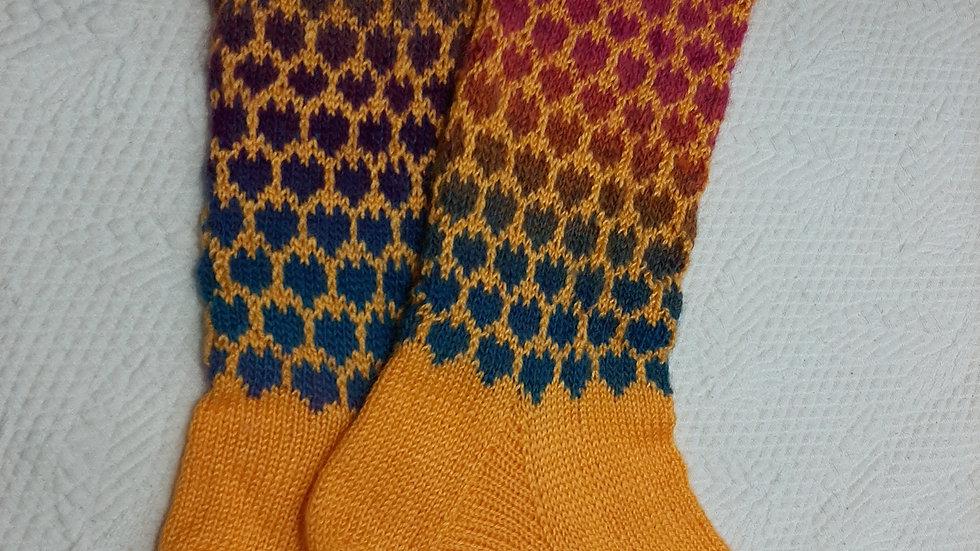 VALÉRIE GARRIGUES - Chaussettes tricoter à la main - 38/44