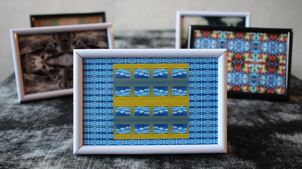 MINNIE ILLING-ADAMS -  «Yellow sky» Impressions numérique, 16 x 10,5 cm