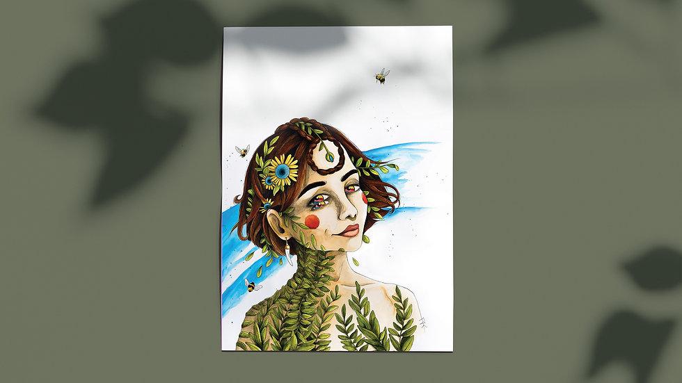 FAE - Poster 1 - A3 - Édition limitée et signé