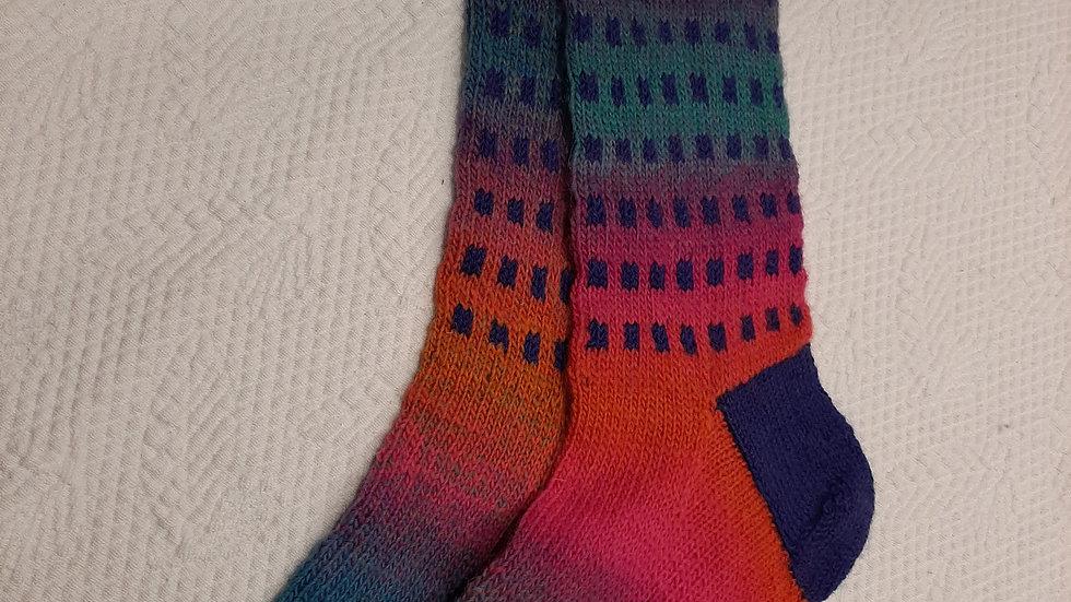 VALÉRIE GARRIGUES - Chaussettes tricoter à la main - 38/
