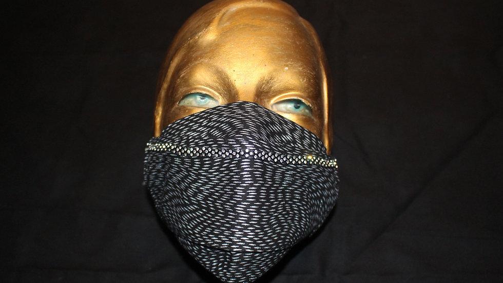 KRISSIE ILLING - Masque de soirée - 100% cotton et diamond