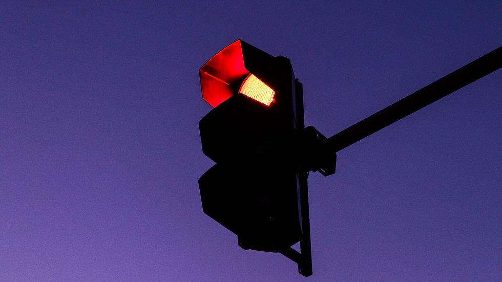 TIGER LILY - Feu rouge dans la nuit - Impression photographie24x36 cm