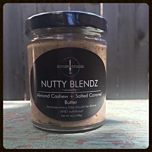6oz Almond Cashew + Salted Caramel Butter