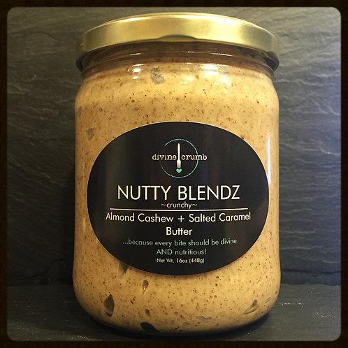 1lb Almond Cashew + Salted Caramel Butter