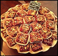 GF Raspberry Almond Coconut Bars