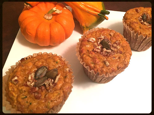 BUNZ Protein Muffins: Pumpkin Maple Pecan