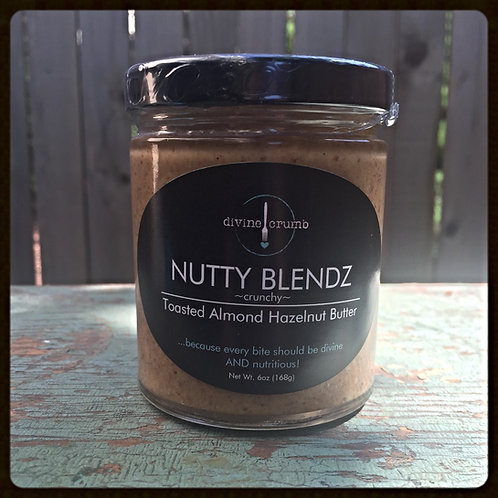 6oz Toasted Almond Hazelnut Butter