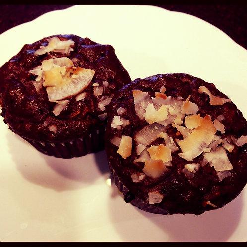 BUNZ Protein Muffins: Chocolate Banana Coconut