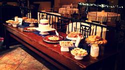 Winter Wedding Dessert Bar