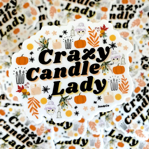 Crazy Candle Lady