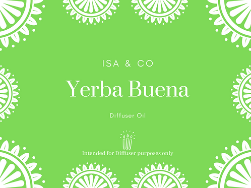 Yerba Buena Oil