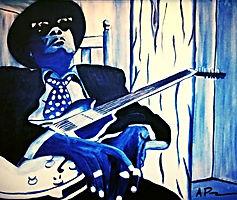 April Paige Musician Paintings