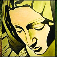 April Paige Angel Paintings