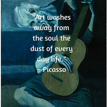 April Paige Quote - Picasso