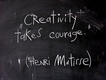 April Paige Quote - Henri Matisse