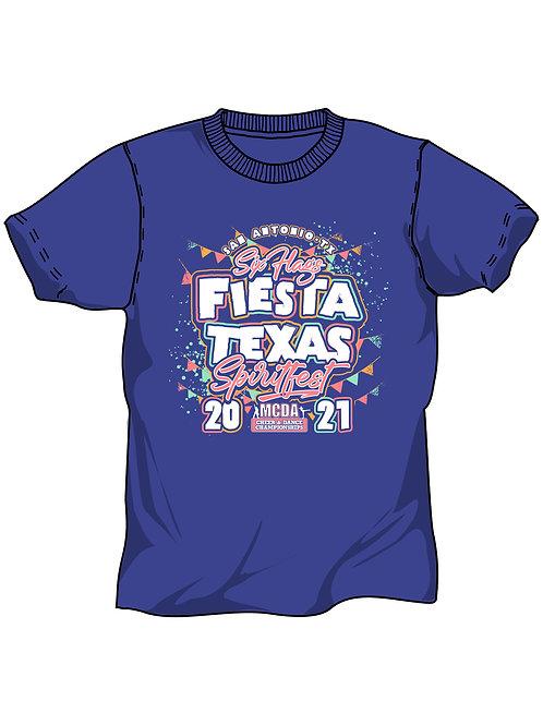 SixFlags Fiesta Texas Spritfest San Antonio, Tx  2021 Event Shirt