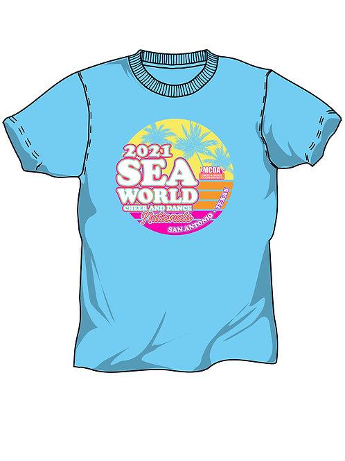 Sea World Texas 2021 Event Shirt