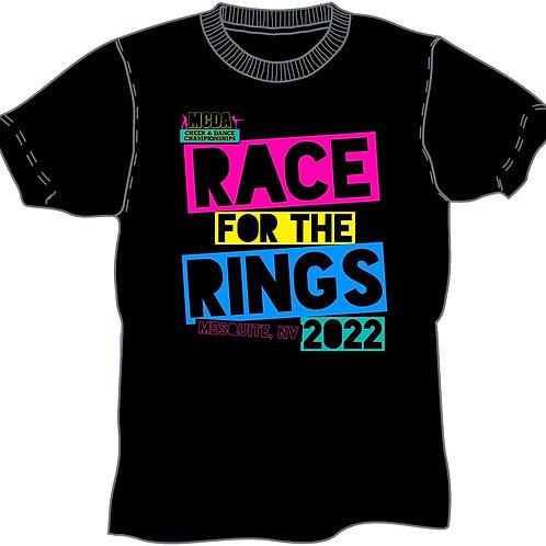 Race For The Rings Nevada 2022 Event Shirt