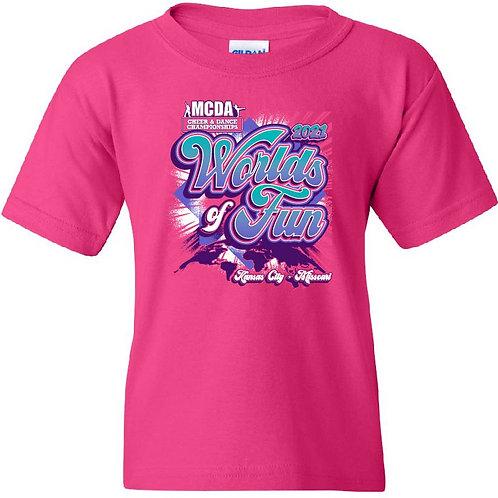 Worlds of Fun Kansas City 2021 Event Shirt