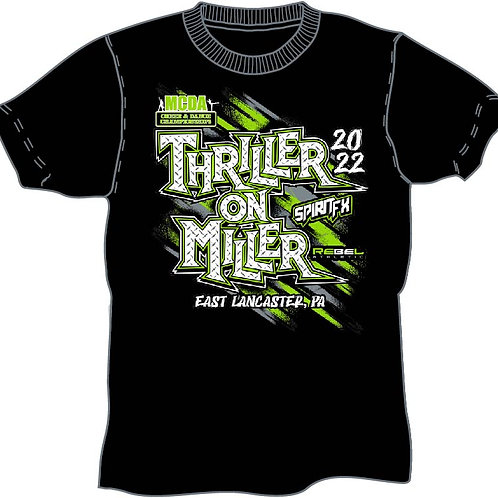 Thriller On The Miller 2022 Event Shirt