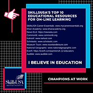 SkillsUSA's TOP 10 educational resources