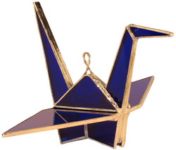 OrigamiCrane_navyBlue_Small