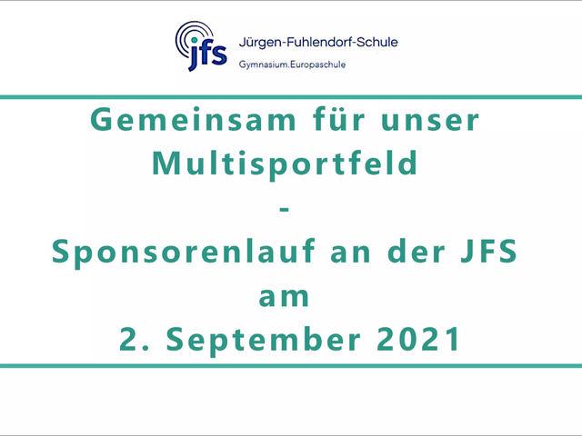 Sponsorenlauf am 2. September 2021