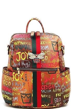 Graffiti Back Pack