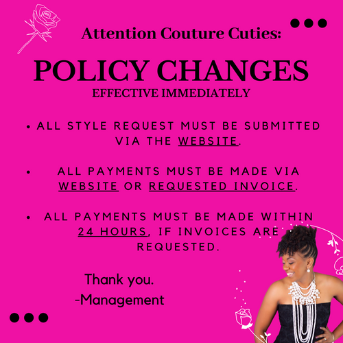 NEW POLICY UPDATES