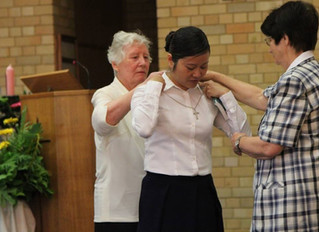 Sr Kim's First Profession