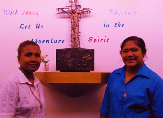 Meet our postulants Salome Falomae and Iutita Kasio