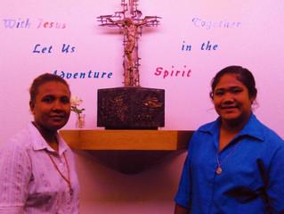 Meet our postulants Salome Falomae and Iutita Kasio
