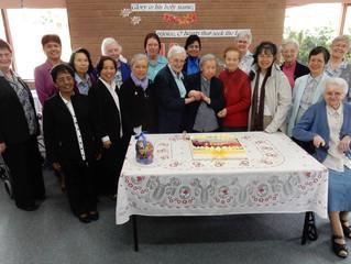 Sr. Esperanza 100 years young!