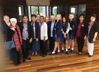 Salesian Sisters celebrate with Year 9 Students